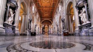 La Basilique Saint-Sauveur du Latran.