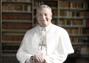 Mgr Giuseppe Cipolloni, CRL, abbé général