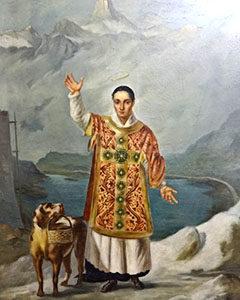 Image result for saint bernard of menthon